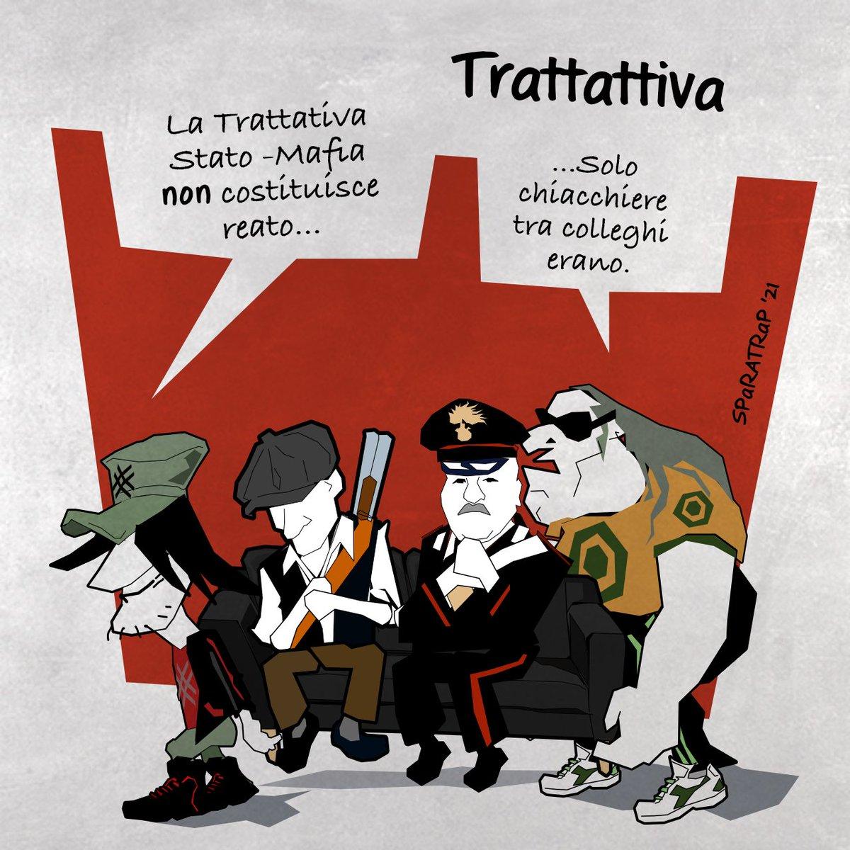 #trattativastatomafia