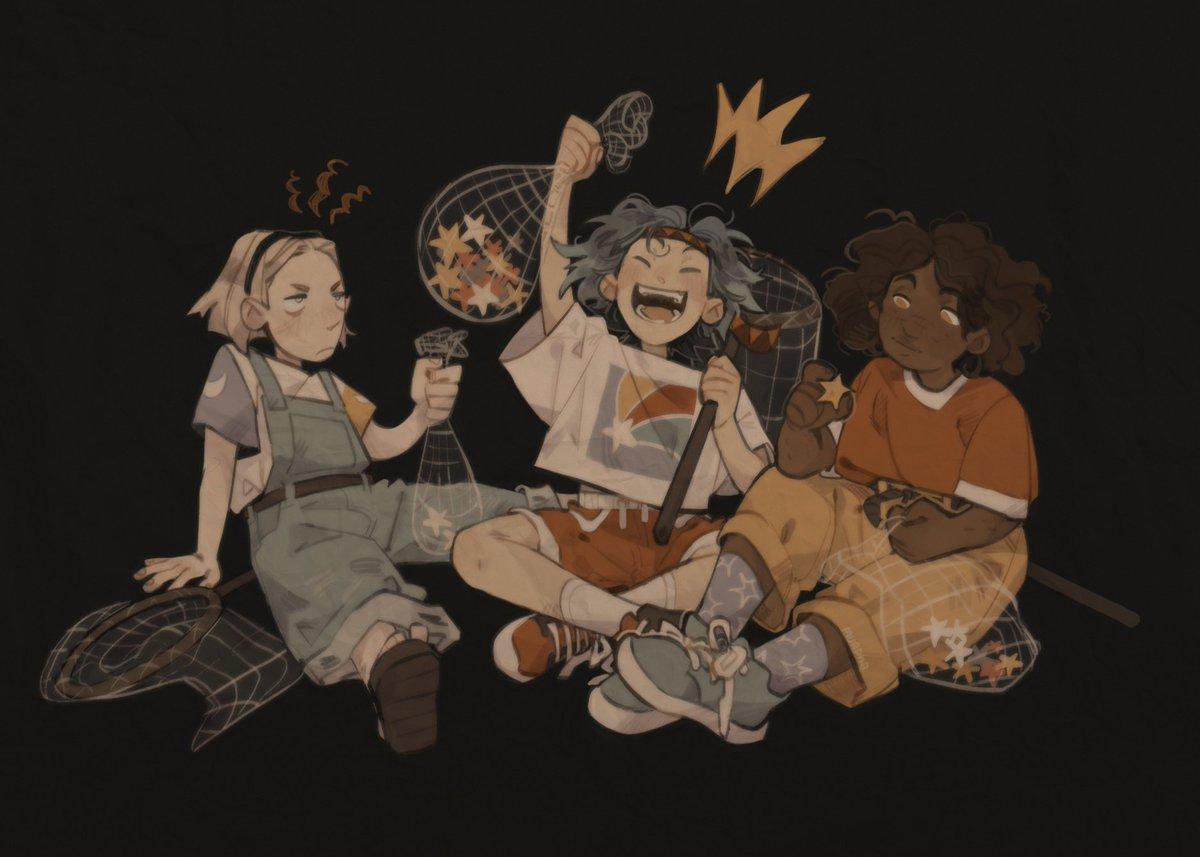 kids who were gathering stars