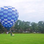 We would like to wish a happy Exeat to all our staff and pupils. Here is a photo of a surprise at King Edward's Witley when a hot air balloon landed on our football field, Culmer, earlier in the Autumn Term. #HappyExeat #iloveboarding