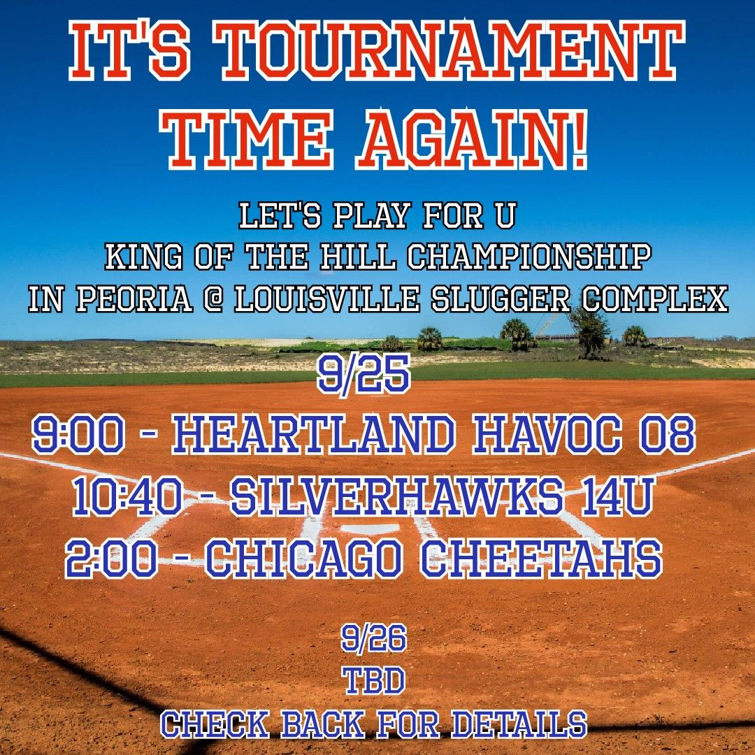 More tournament action coming your way this weekend! We'll be playing in Peoria IL at the @sluggerpeoria Complex! #Softball #softballlife #texasglory #texasgloryil https://t.co/sscVsrKVEb