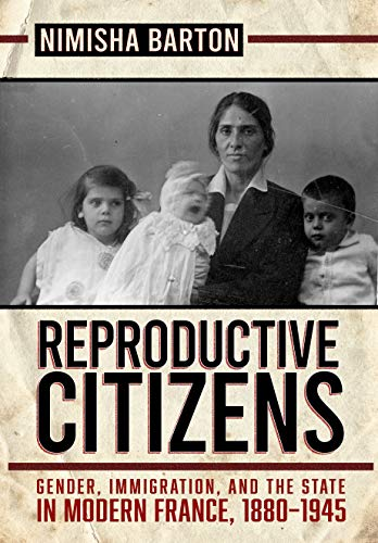 In @CornellPress #BookBirthday news, 'Reproductive Citizens: Gender, Immigration, and the State in Modern France, 1880–1945' by Dr.@NimishaBarton is ONE year old! Check out her 'compelling history of social citizenship' & guest lecturer opportunities here: cornellpress.cornell.edu/book/978150174…