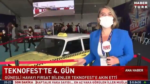 Image for the Tweet beginning: İstanbul'da Teknofest rüzgarı... Teknofest'in 4.