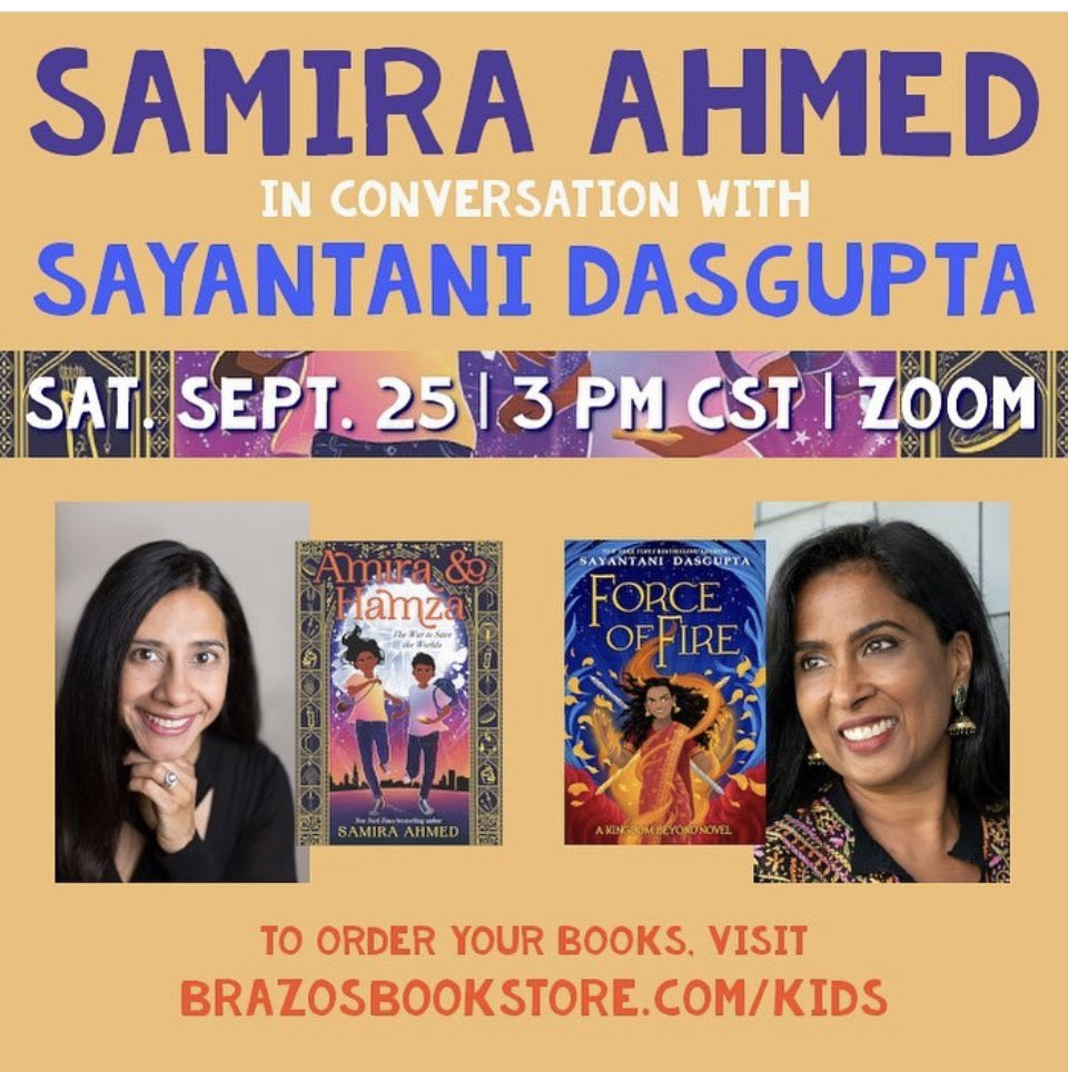 Tomorrow! 3 CST. This is going to be so much fun!! brazosbookstore.com/event/virtual-…