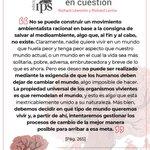"""Image for the Tweet beginning: #HuelgaPorElClima 🌎  🔹""""La biología en cuestión"""""""