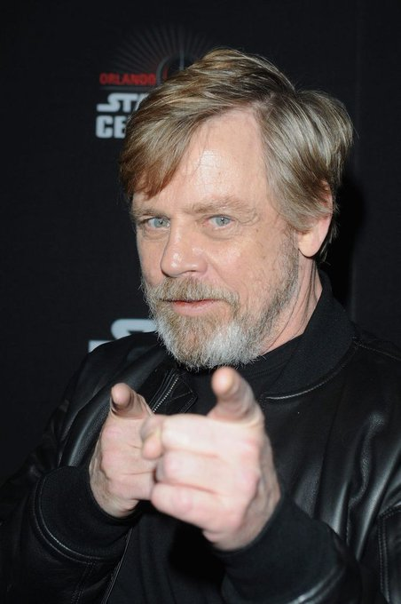 This cool dude\s birthday today!! Happy birthday to Mark Hamill!!  And also me :)