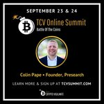 Image for the Tweet beginning: Catch @colinpape speaking at 5:30