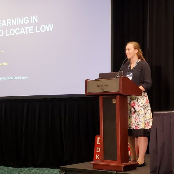 Emma Lyon and Caitlin Arnold attended the conference earlier this month. Read about their research here:  https://t.co/gjEjD2dM1R https://t.co/UmDWFZeXpN