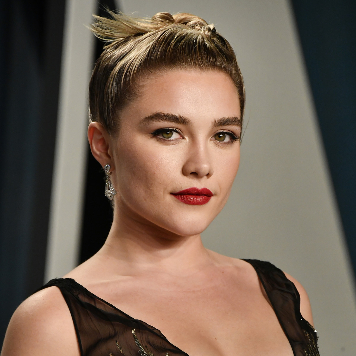 """.@Madonna reveals that she would like to see @Florence_Pugh play her in the singer's upcoming biopic. """"She's definitely up there on the list, if she'll have me."""""""