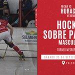 Image for the Tweet beginning: Huracán 🎈 #HockeySobrePatines  🏑Este sábado 25/9,
