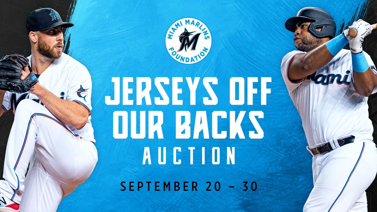 BID NOW on @Marlins game-used items from the 2021 season! Don't miss out on the opportunity to secure a one of a kind item! Visit marlins.com/auction to learn more.