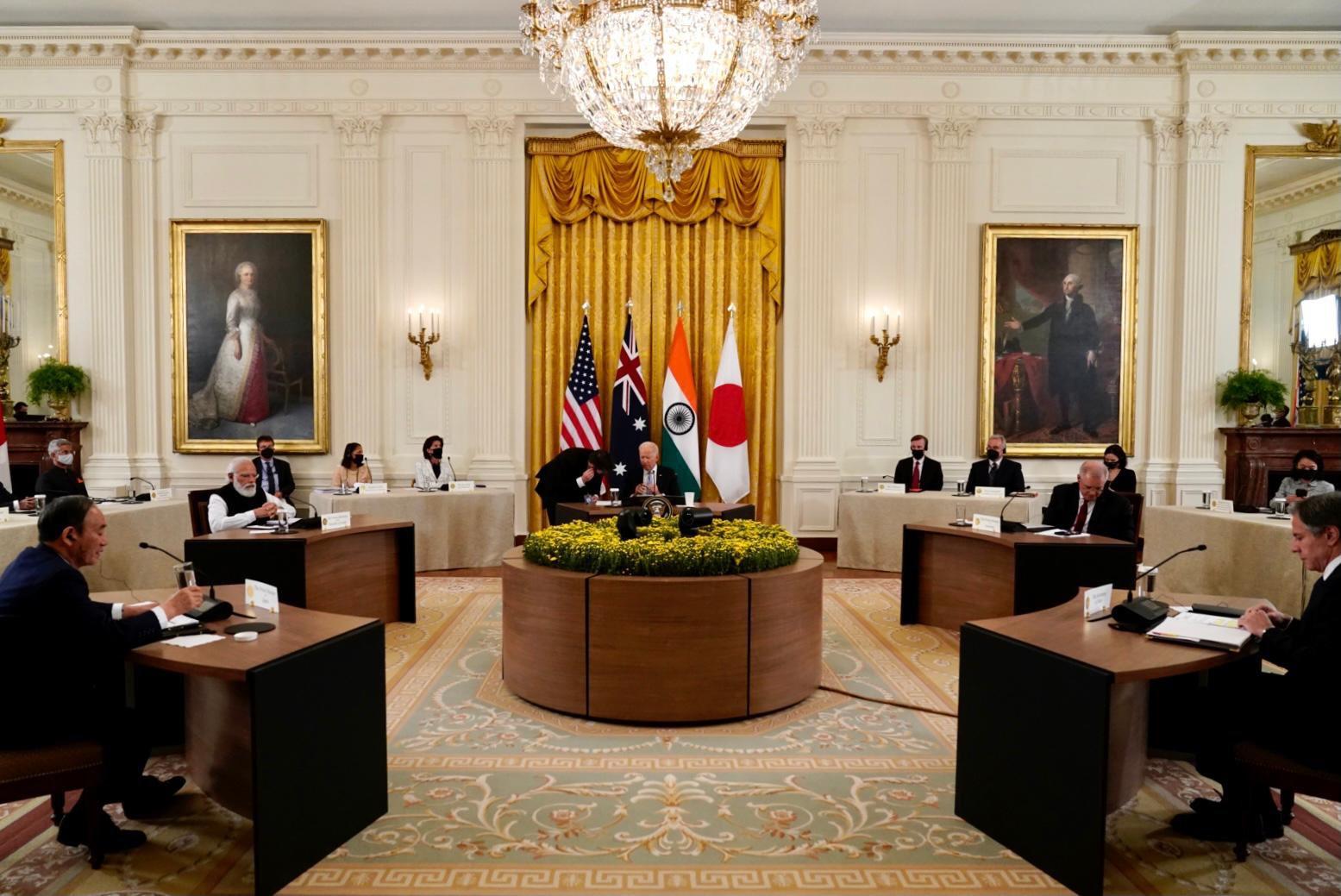 क्वाड नेताओं ने संयुक्त बयान में हिंद-प्रशांत क्षेत्र को स्वतंत्र और खुला रखने का आह्वान किया