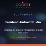 Image for the Tweet beginning: #CONAITBUSCA 91BE | FRONTEND ANDROID
