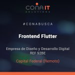 Image for the Tweet beginning: #CONAITBUSCA 92BE | FRONTEND FLUTTER