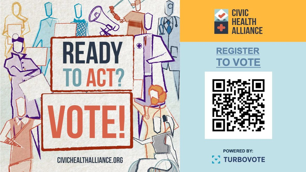 test Twitter Media - Celebrate National Voter Registration Day! Encourage your patients to register to vote. You can place a voter registration flyer with an easy-to-use QR code in your clinical spaces (e.g. waiting room, near elevators) or on your local community boards.  https://t.co/LbHufetejI https://t.co/Uo8KyvXgbB