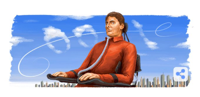 The google header today is awesome! Happy Birthday Christopher Reeve