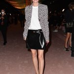 Image for the Tweet beginning: Olivia Palermo is seen on
