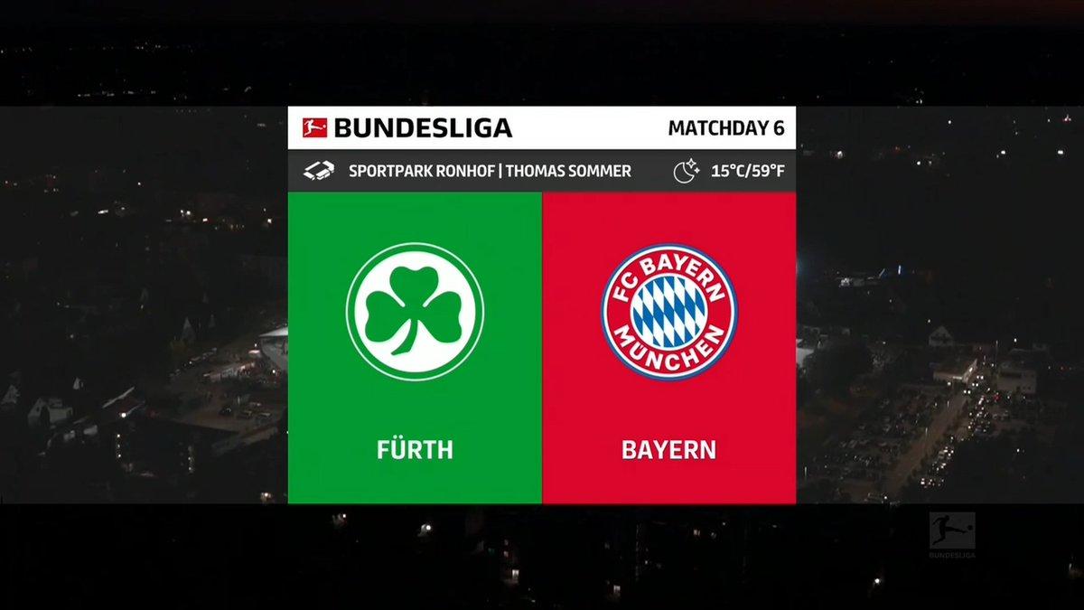 Full match: Greuther Furth vs Bayern Munich