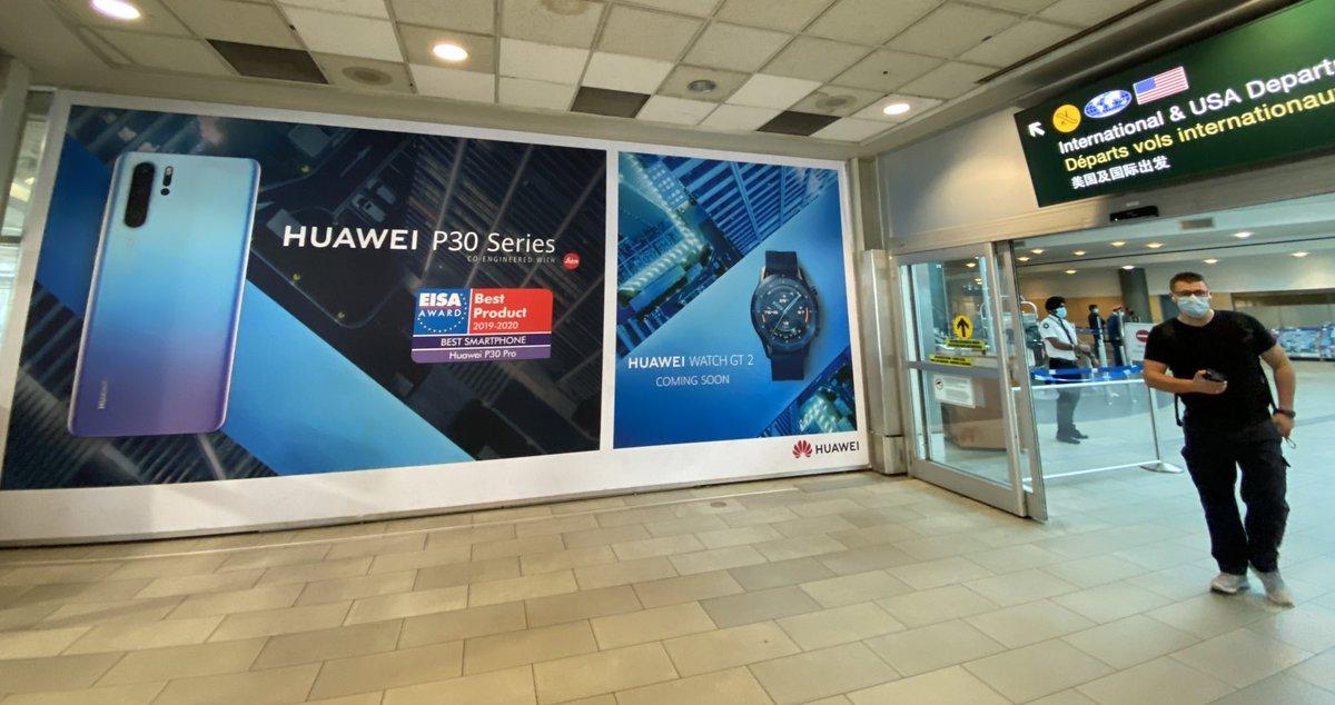 RT @bobmackin: Of course, Huawei advertising in @yvrairport, the day Meng Wanzhou departed. #cdnpoli #uspoli #vanRE https://t.co/YTjgeQeWr2