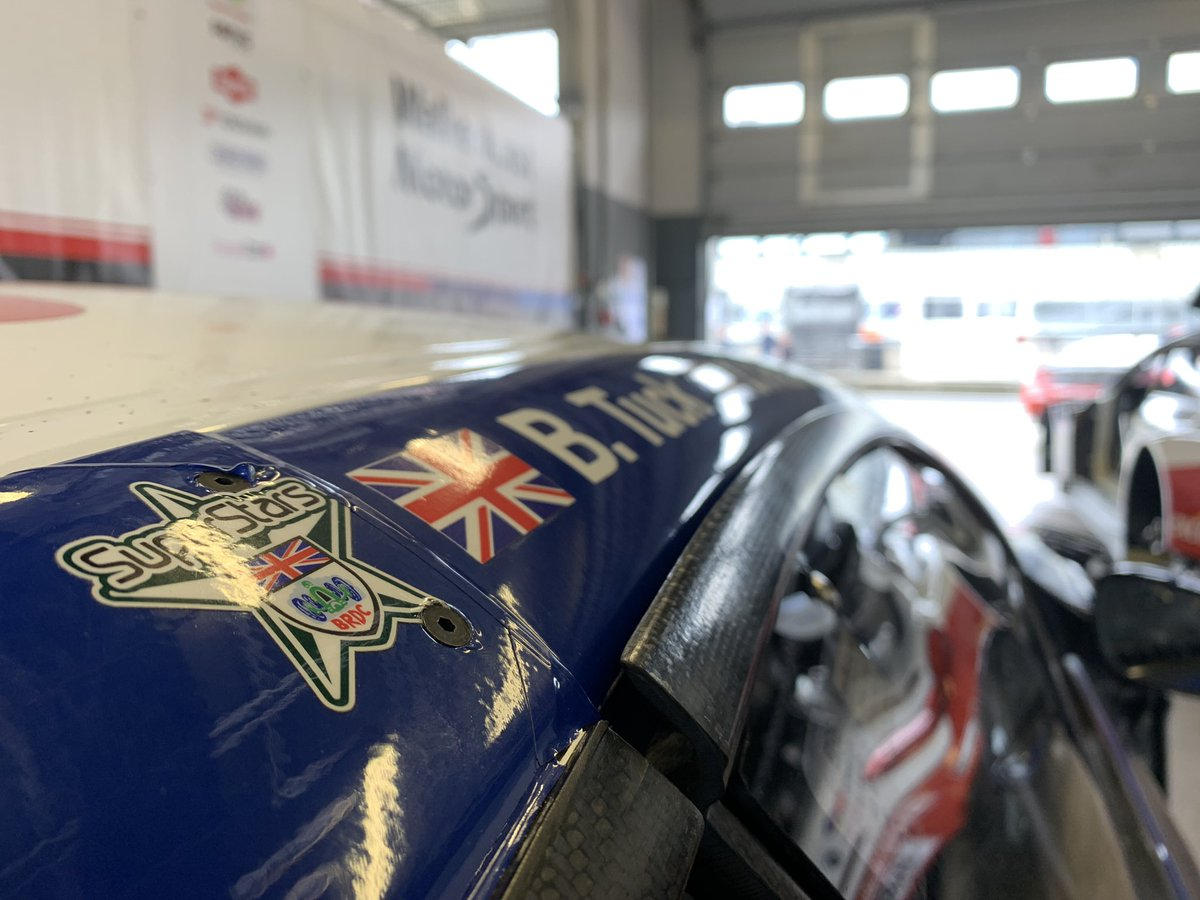 Good morning from foggy Nurburgring! Final preps are underway for qualifying at 7:30am UK time….  Follow live timing at https://t.co/FxwFqEgTeG  As always check out our Instagram stories at @bentuckracing across the weekend for insights and updates….