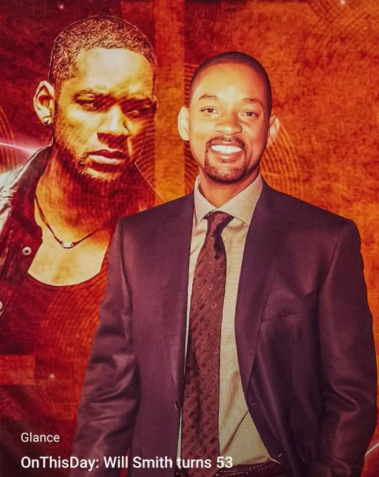 Happy Birthday .  That\s a Fan account, looks like Will Smith doesn\t have a message account.