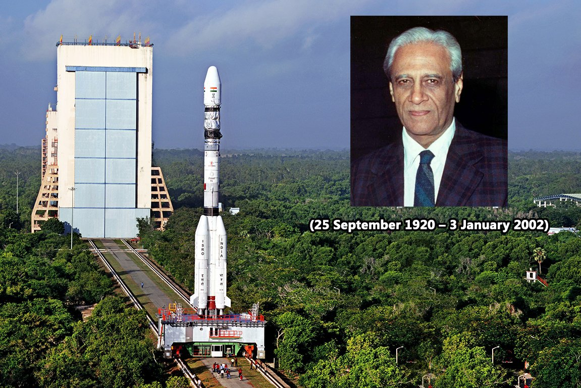 25th September is the Birthday of Prof Satish Dhawan, the Father of experimental fluid dynamics research in India.  He gave self-confidence to #VikramSarabhai #APJAbdulKalam's vision for the success of Indian space program.  Visit Hall of Space in #ScienceCity to explore more. https://t.co/wFXV9jpUAE