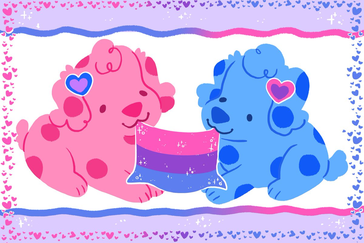 RT @woolblossom: Blues clues says bi rights :) https://t.co/ooNTEr1y7R