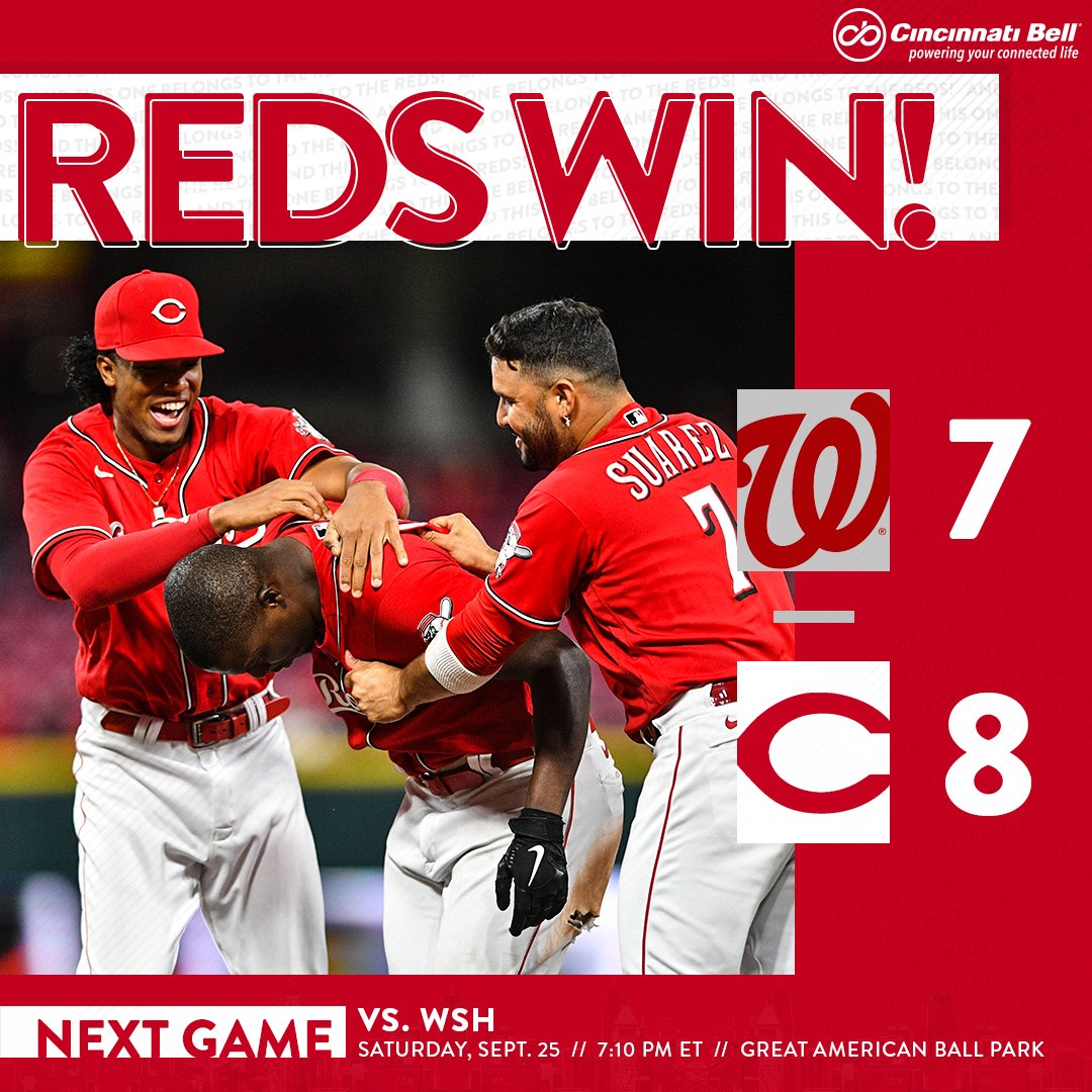 @Reds's photo on Nats