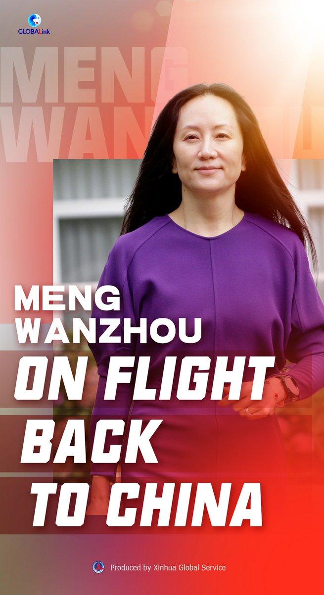 test Twitter Media - Meng Wanzhou on flight back to China https://t.co/RLD5JrbdeH