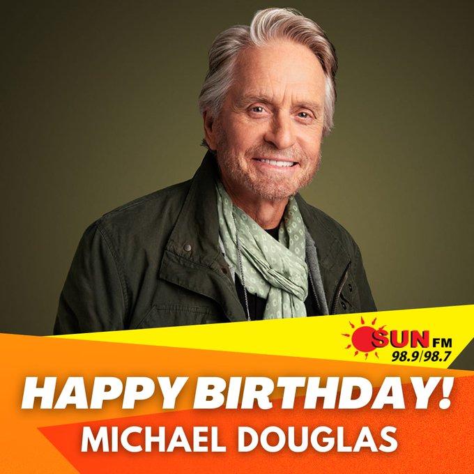 Happy Birthday Michael Douglas!!
