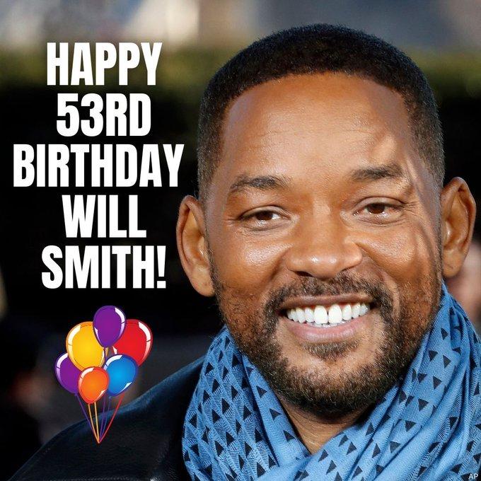 HAPPY BIRTHDAY -- Will Smith turns 53 today!