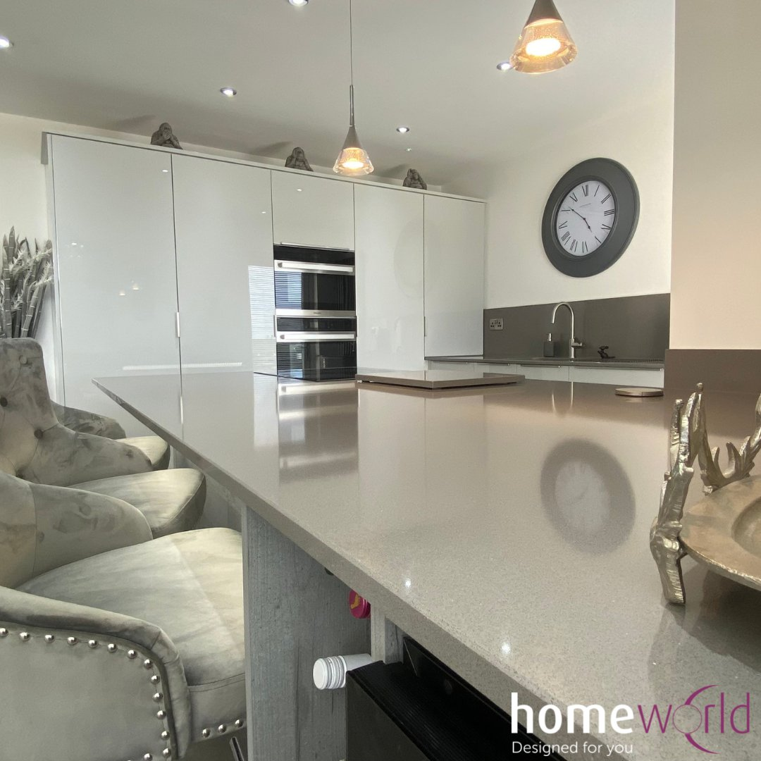Discover functionality without ever having to sacrifice aesthetic. Silestone has quickly become the ideal solution for your home.   Here at Homeworld we love working with Silestone on our renovations.  zcu.io/0wUh