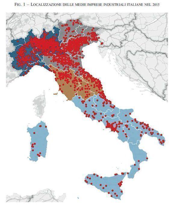 Incredibile la totale mancanza di addensamento intorno a Roma, Bari e Palermo.