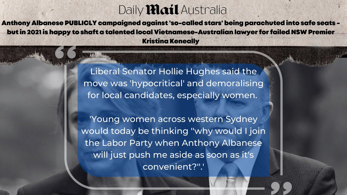 """Each way Albo has been exposed yet again, saying one thing in one forum and then the complete reverse when it's convenient. When Albanese next promises to """"fight to the death"""" for a cause, Australians now know he will do the exact opposite. #auspol dailymail.co.uk/news/article-1…"""