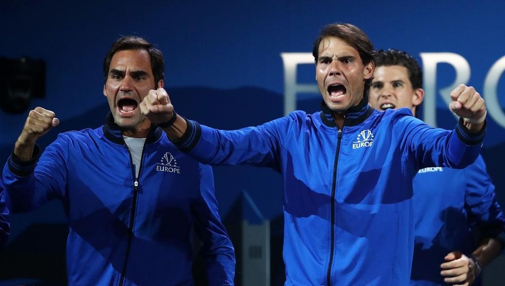 With #Djokovic clearly mentioning in many of his press that his main focus from now on will be on the Grandslams and with Nadal having to maintain his workload given the wear and tear he has had on those legs, it is highly unlikely we'll ever see them again at the #LaverCup