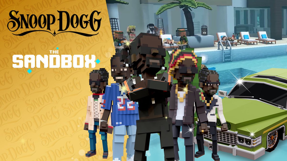 A question posed in yesterday's AMA (youtu.be/1QUbkPlmnp8) 'Where else in the world can #Pororo interact with @SnoopDogg? ONLY in #TheSandbox metaverse!' That's right, we are bringing IPs/partners from many genres into one harmonious platform, with endless possibilities!🙌