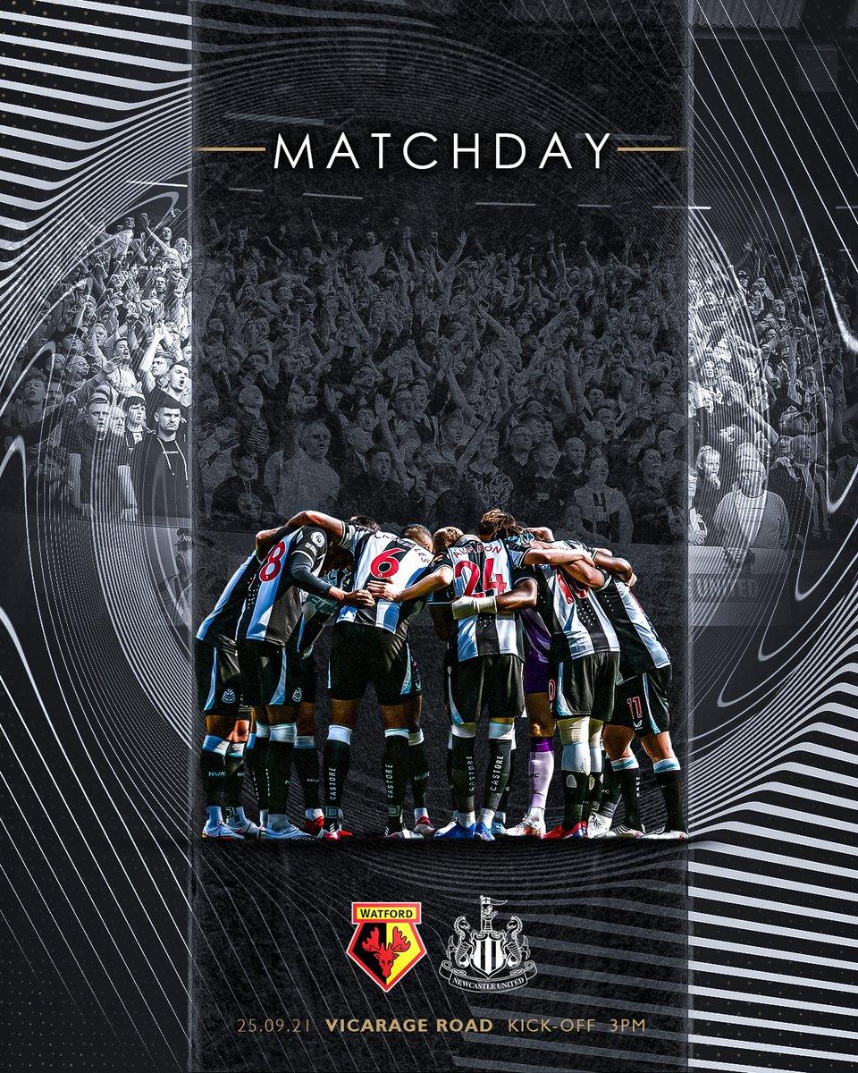 🗓️ Maç Günü!  Premier Lig'e istediği başlangıcı yapamayan takımımız, Watford deplasmanında galibiyet arıyor.  Başarılar #Toon! ⚫⚪  ⌚ 17.00 📺 S Sport Plus  #NUFC