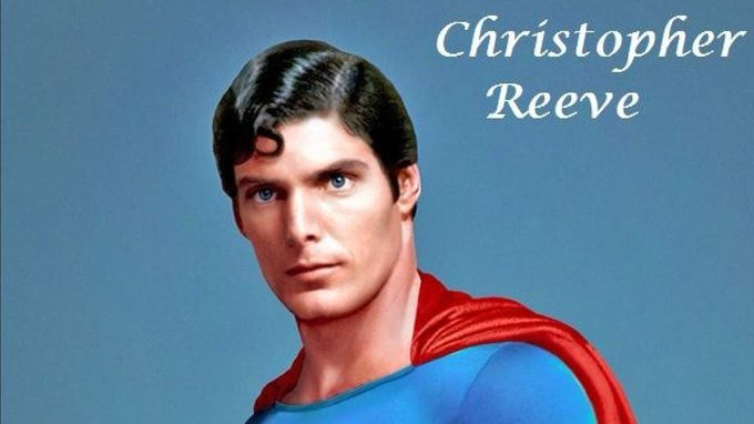 Happy 69th(nice)Birthday Christopher Reeve. You\ll always be Superman to me.