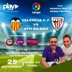 Image for the Tweet beginning: ✅ 16h VALENCIA CF -