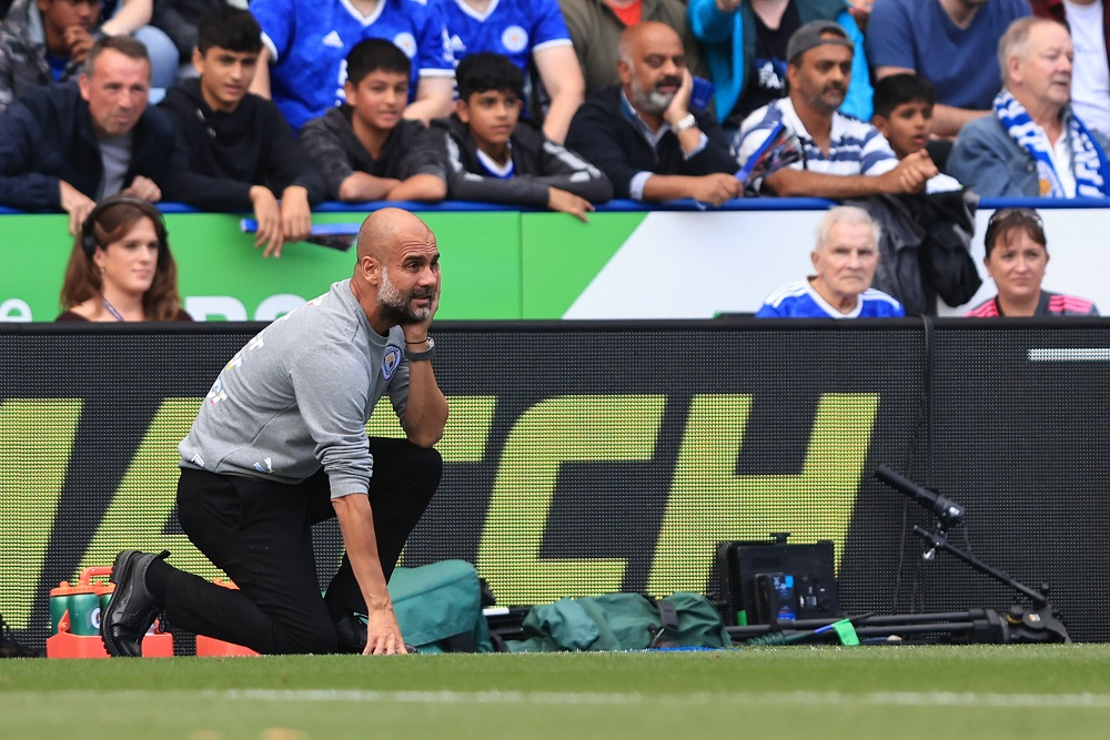 Manchester City manager Pep Guardiola admits he does not have a player in his squad capable of scoring 25 goals like his Premier League rivals. #SLInt MORE: bit.ly/3kB3SYN