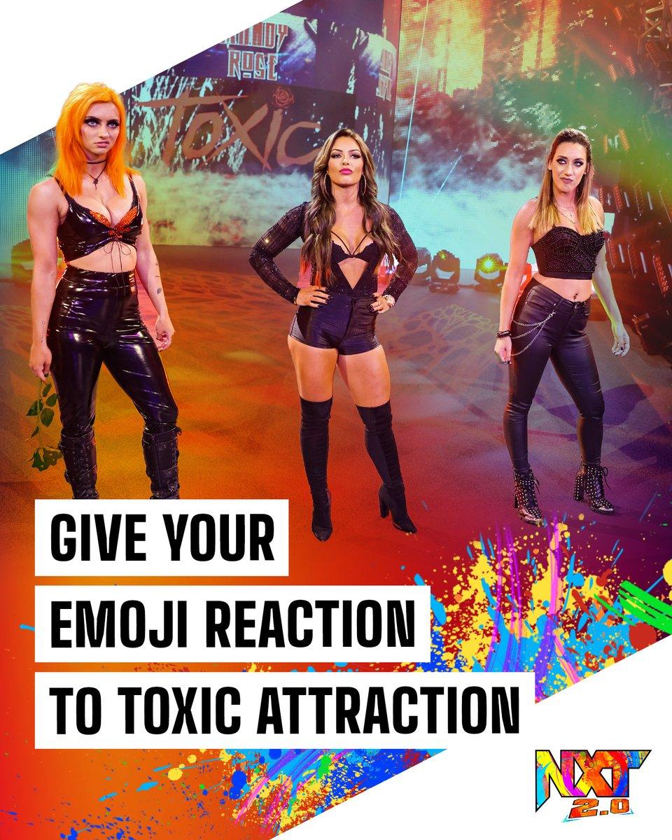 #WWENXT #ToxicAttraction  @WWE_MandyRose @jacyjaynewwe @gigidolin_wwe   ⤵️ https://t.co/HTaBM4gLIL