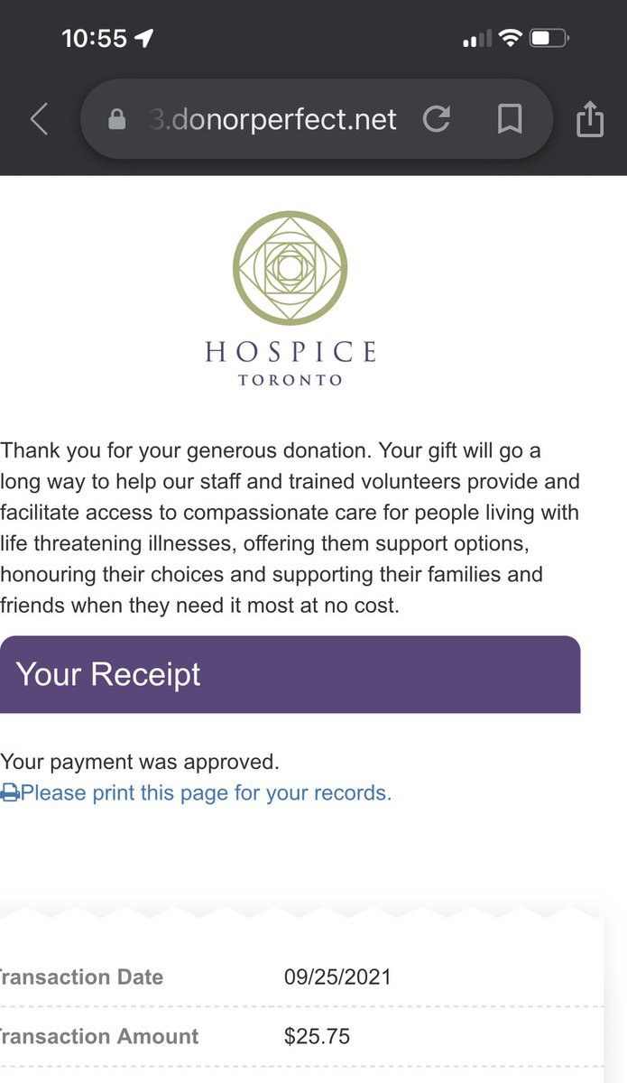Day 25 done to @HospiceTO in honor of @_HeyitsmeAllie 💜  #BeKind  #911anniversary