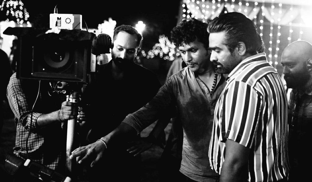 From the sets of #VIKRAM.  #KamalHaasan #VijaySethupathi #FahadhFaasil #LokeshKanagaraj