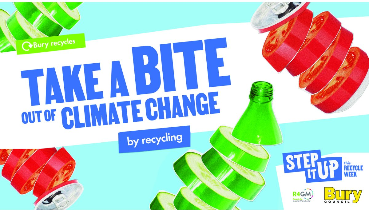 We save 18 million tonnes of CO2 a year by recycling, the same environmental impact as 27 million of us going veggie. 🥦  Most of us are stepping it up to take climate change down, and recycling is one of the easiest ways to do it.   #recyclemore #recycleweek https://t.co/4e3nfR3KJL
