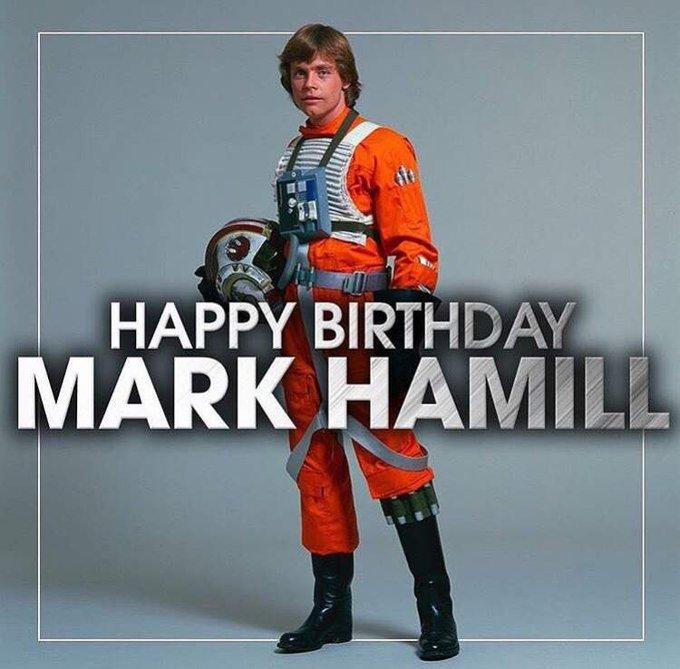 Happy 70th Birthday! Mark Hamill Star Wars