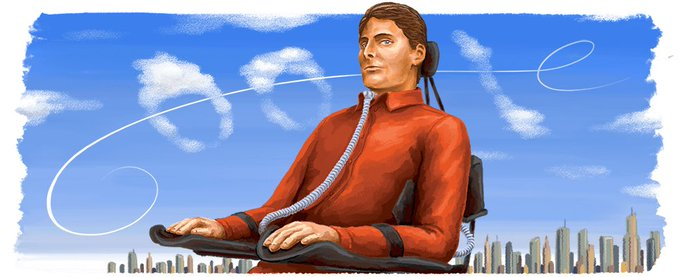Happy 69th birthday Christopher Reeve.  What a lovely gesture from
