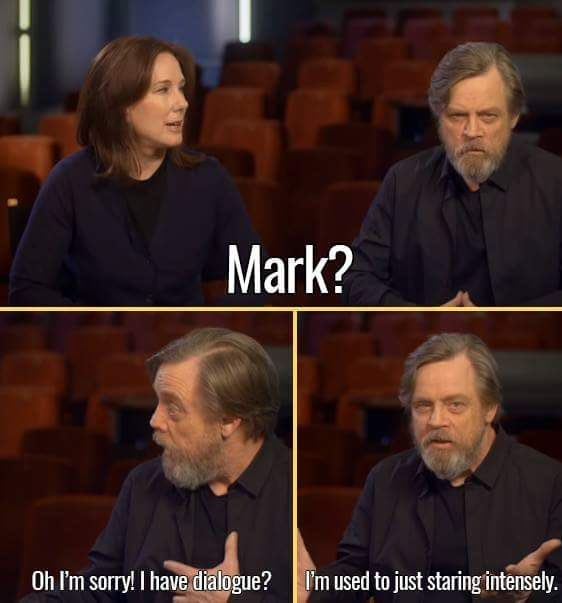Happy 70th birthday to THE Jedi Master, Mark Hamill!