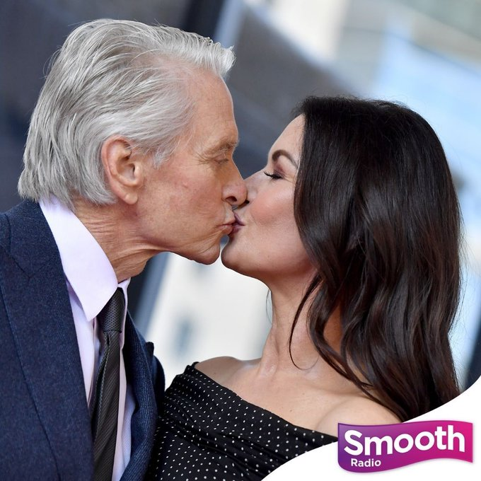 Happy joint birthday to these two! Michael Douglas turns 77 today, and wife Catherine Zeta-Jones turns 52.