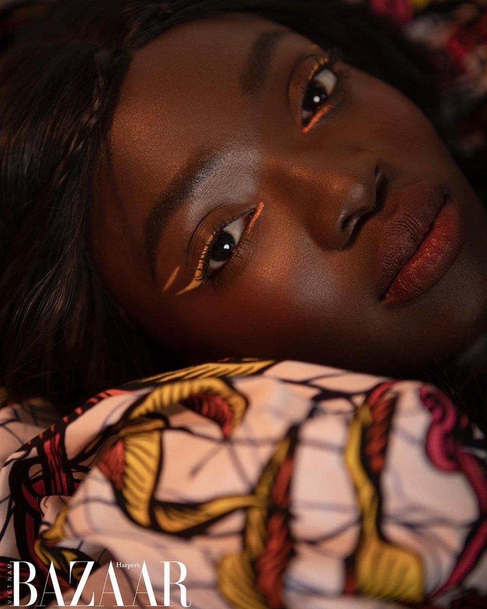 test Twitter Media - 🥰😍🤩 @soukeyna for Hapers Bazaar Vietnam   #model #melanin #fashion #africanfashion https://t.co/9vffwvU6C0