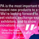 Image for the Tweet beginning: #FESPA2021 exhibitors can't wait to