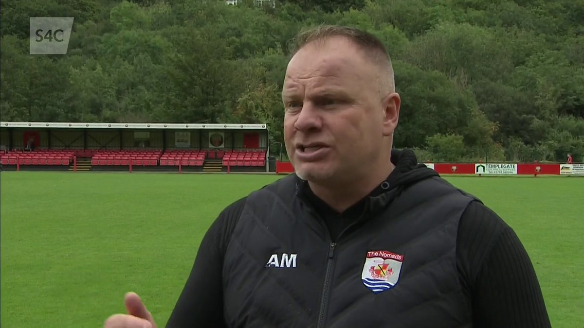 Image for the Tweet beginning: 🗣️ Ymateb rheolwr @the_nomads, Andy